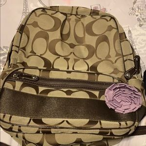 Coach back pack
